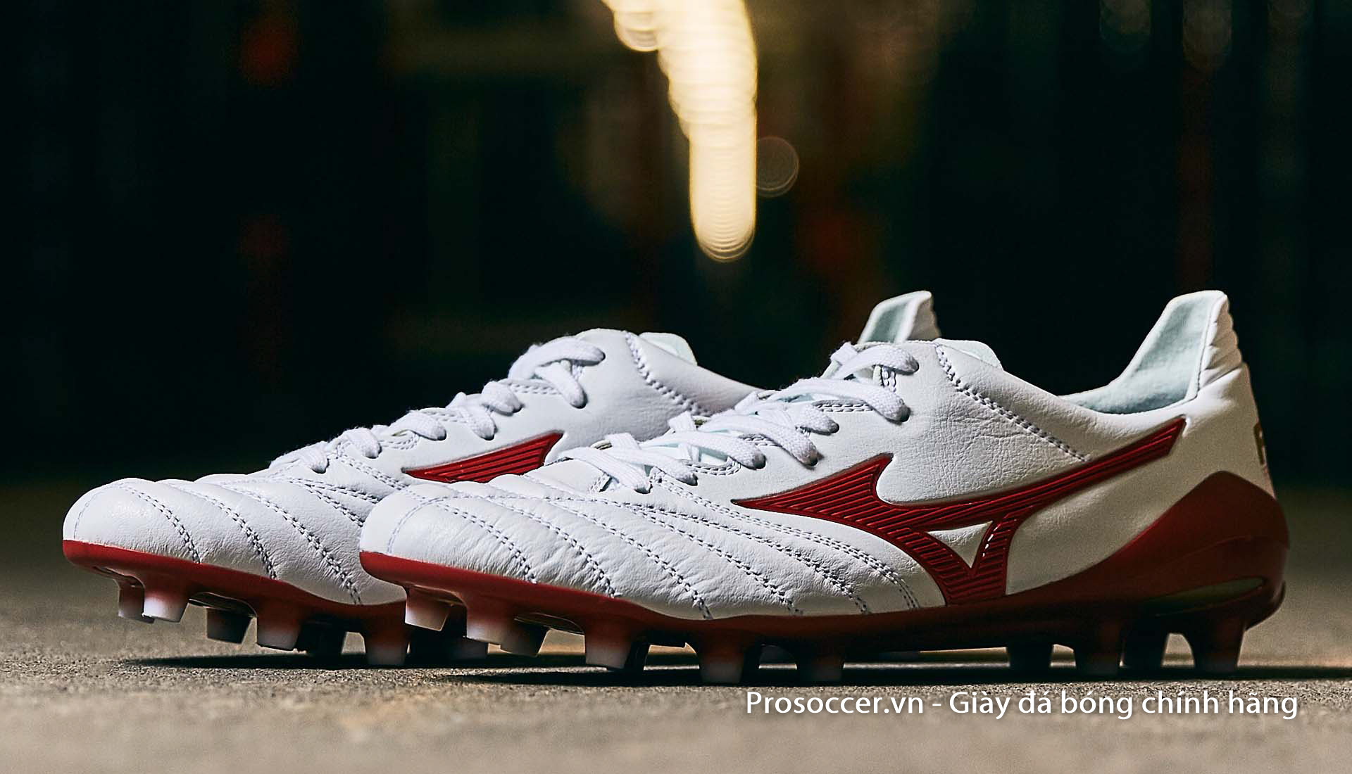 Mizuno đang trở thành một thương hiệu giày đá bóng rất được lòng người hâm mộ Việt Nam