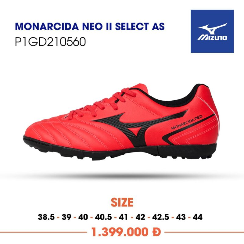 Mizuno Monarcida Neo 2 select as do vach den