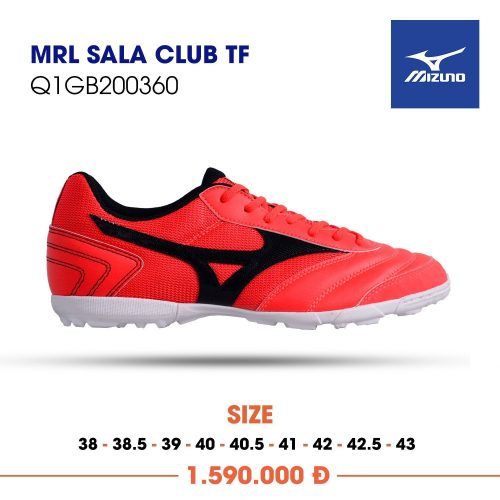 Mizuno Morelia Sala Club tf do vach den san co nhan tao