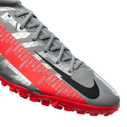 Nike Mercurial Superfly 7 Academy TF Neighbourhood - Metallic Bomber GreyBlackParticle Grey (6)