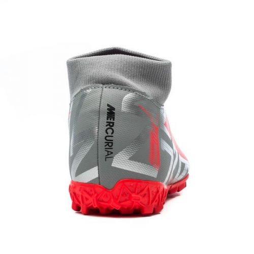 Nike Mercurial Superfly 7 Academy TF Neighbourhood - Metallic Bomber GreyBlackParticle Grey (7)