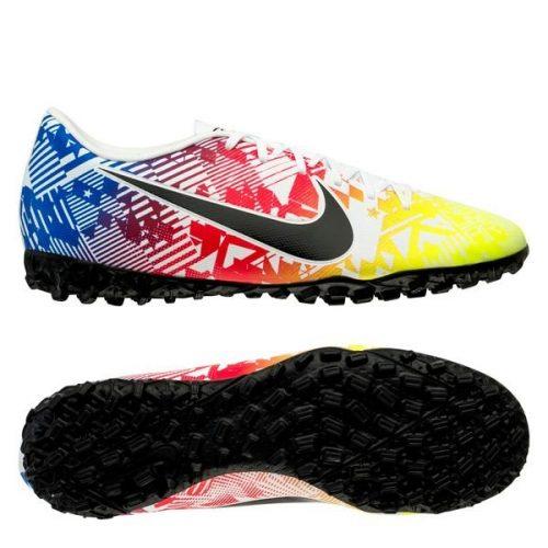 Nike Mercurial Vapor 13 Academy TF NJR Jogo Prismatico - WhiteBlackRacer BlueVolt (4)