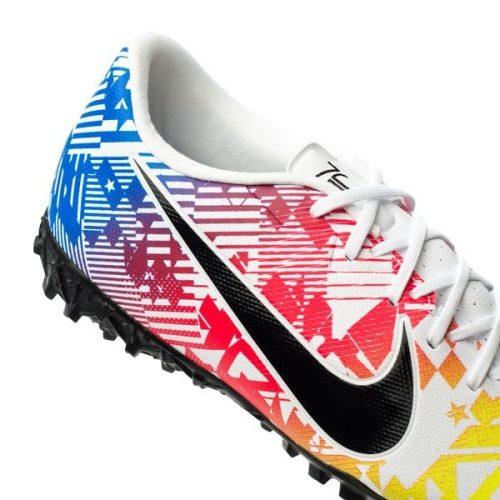 Nike Mercurial Vapor 13 Academy TF NJR Jogo Prismatico - WhiteBlackRacer BlueVolt (6)