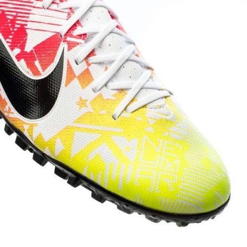 Nike Mercurial Vapor 13 Academy TF NJR Jogo Prismatico - WhiteBlackRacer BlueVolt (8)
