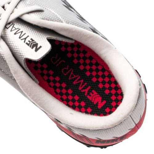 Nike Mercurial Vapor 13 Academy TF NJR Speed Freak - ChromeBlackRed Orbit Kids (2)