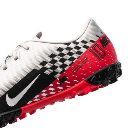 Nike Mercurial Vapor 13 Academy TF NJR Speed Freak - ChromeBlackRed Orbit Kids (3)