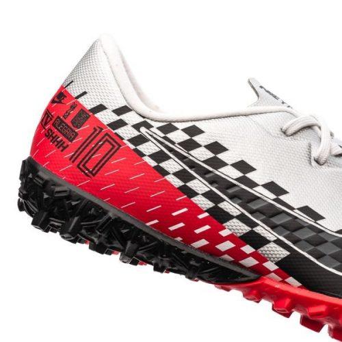 Nike Mercurial Vapor 13 Academy TF NJR Speed Freak - ChromeBlackRed Orbit Kids (4)