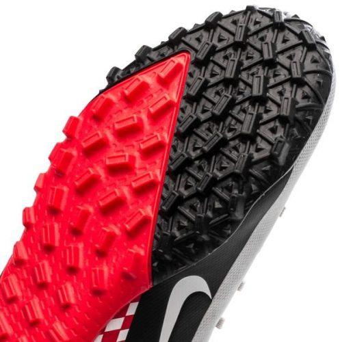 Nike Mercurial Vapor 13 Academy TF NJR Speed Freak - ChromeBlackRed Orbit Kids (5)