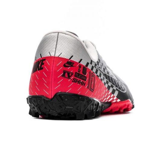 Nike Mercurial Vapor 13 Academy TF NJR Speed Freak - ChromeBlackRed Orbit Kids (8)