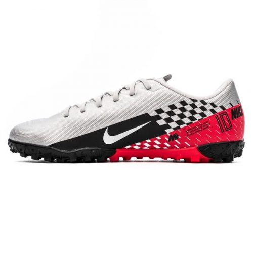 Nike Mercurial Vapor 13 Academy TF NJR Speed Freak - ChromeBlackRed Orbit Kids (9)