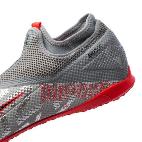 Nike Phantom Vision 2 Academy DF TF Neighbourhood - Metallic Bomber GreyBlackParticle Grey (3)