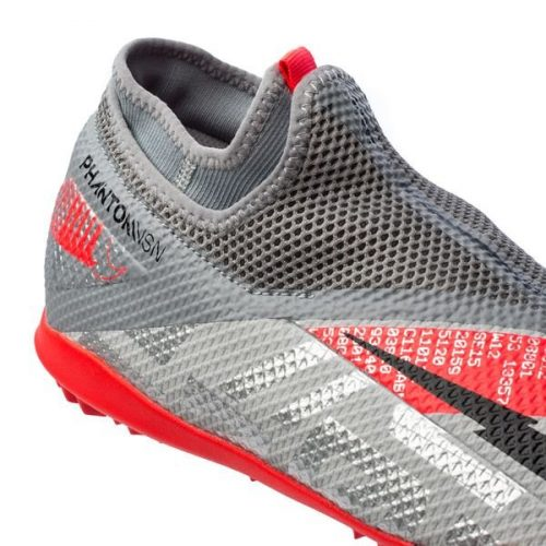 Nike Phantom Vision 2 Academy DF TF Neighbourhood - Metallic Bomber GreyBlackParticle Grey (4)
