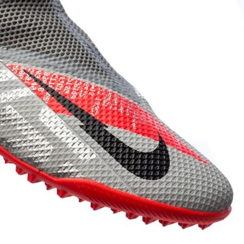 Nike Phantom Vision 2 Academy DF TF Neighbourhood - Metallic Bomber GreyBlackParticle Grey (6)