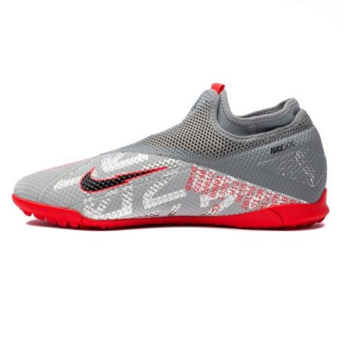 Nike Phantom Vision 2 Academy DF TF Neighbourhood - Metallic Bomber GreyBlackParticle Grey (8)