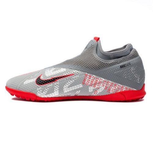Nike Phantom Vision 2 Academy DF TF Neighbourhood - Metallic Bomber GreyBlackParticle Grey (8)