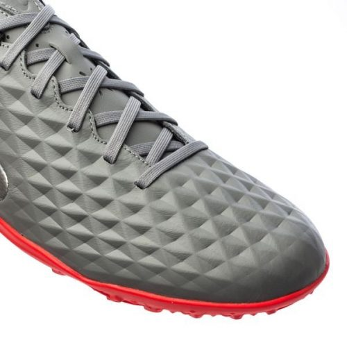 Nike Tiempo Legend 8 Academy TF Neighbourhood - Metallic Bomber GreyBlackParticle Grey (6)