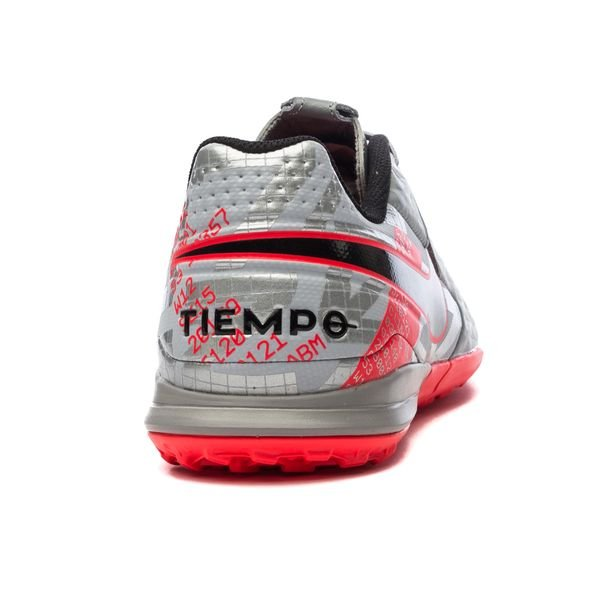 Nike Tiempo Legend 8 Academy TF Neighbourhood - Metallic Bomber GreyBlackParticle Grey (7)