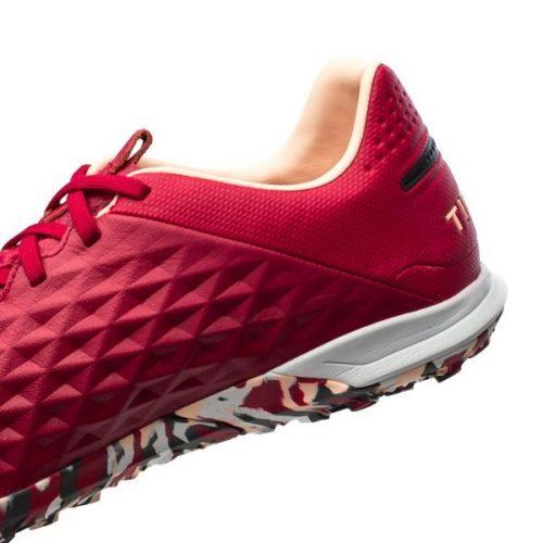 Nike Tiempo Legend 8 Pro TF Play Mode - Cardinal RedBlackCrimson TintWhite (3)