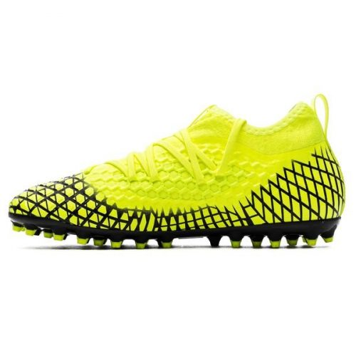 Puma Future 4.3 Netfit MG Rush - Yellow AlertPUMA Black Kids (9)